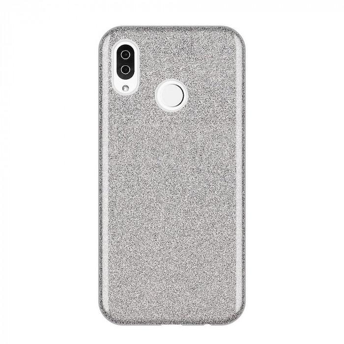 Husa Samsung Galaxy A50 - Cu Sclipici Argintie