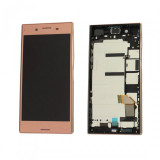 Ansamblu display touchscreen rama Sony Xperia XZ Premium G8141 rose gold