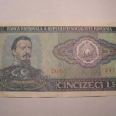 50 lei 1966 XF