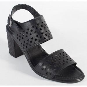 Sandale office negre piele naturala (cod 196036)