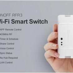 Sonoff RFR3 Intrerupator Wifi Smarthome Google Home Alexa
