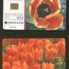 Romania 2001 Telephone card Flowers Rom 117 CT.098