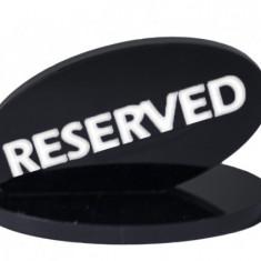Suport acrilic rezevat pentru restaurant negru MN0136707 Raki