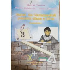Caiet de matematica pentru clasa a III-a, trimestrul I