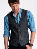 Cumpara ieftin Vesta premium, eleganta, barbati - V50-negru