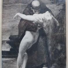 Edouard Joseph Dantan (1848-1897) - Gravura