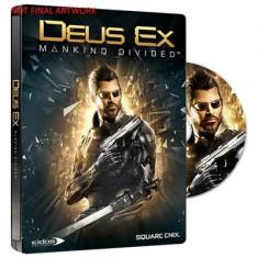 Deus Ex Mankind Divided Steelbook Edition Xbox One