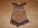 costum carnaval serbare indianca pentru copii de 10-11-12 ani