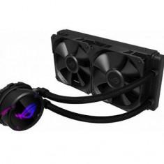 Cooler CPU ASUS ROG STRIX LC 2 x 240mm, LED RGB (Negru)