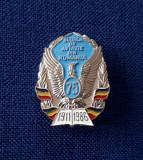 Insigna Scoala de aviatie din Romania - Superba