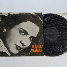 Maria Tanase - V -  disc vinil ( vinyl , LP ) nou
