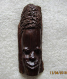 Sculptura africana in lemn vechi de Mpingo(Dalbergia Melanoxylon).Aprox. 12cm.