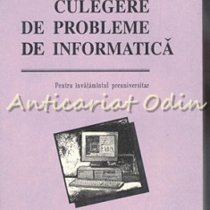Culegere De Probleme De Informatica - Gheorghe Bostan