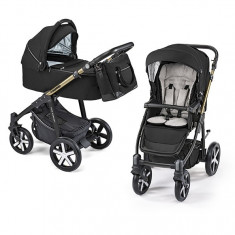 Carucior 2 in 1 Baby Design Lupo Comfort Limited 12 Black 2019