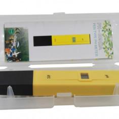 Tester digital PH lichide (apa potabila, fantana, acvariu, piscina)