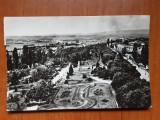 Turnu Severin - Parcul rozelor - carte postala circulata 1974, Fotografie