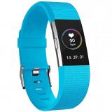 Cumpara ieftin Curea pentru Fitbit Charge 2, marimea S, Albastru deschis