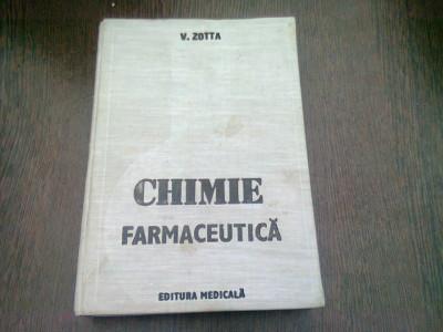 CHIMIE FARMACEUTICA - V. ZOTTA foto
