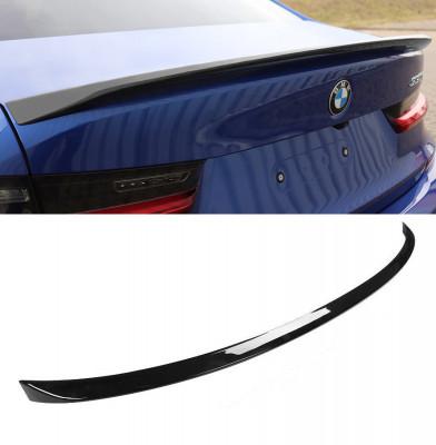 Eleron portbagaj BMW G20 Sedan M performance negru lucios foto