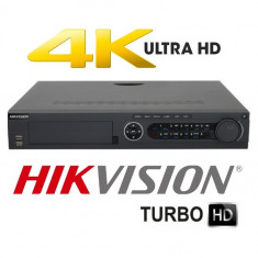 Dvr TurboHD 5.0 8MP 4K 16/4Ch Video/Audio 4HDD Hikvision