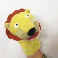 Marioneta teatru de papusi leu, papusa de mana