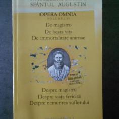 SFANTUL AUGESTIN - DESPRE MAGISTRU, DESPRE VIATA FERICITA ... {bilingva}