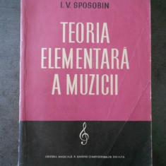 I. V. SPOSOBIN - TEORIA ELEMENTARA A MUZICII