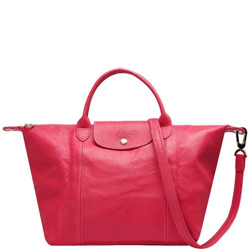 Le Pliage Cuir Handbag