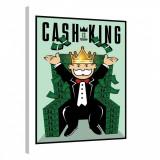 Tablou Canvas, Tablofy, Cash is King · Monopoly Edition, Printat Digital, 90 × 120 cm