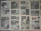 ziar Fraierul roman, anul I/1991,11 numere,ziare revista dupa Revolutie anii 90