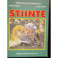 STIINTE - STELA GURZAU