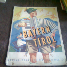 VON BAYERN BIS TIROL - GUSTAV KANTER dE LA BAVARIA LA TIROL, PARTITURI CANTECE ACORDEON)