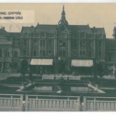 1216 - SATU-MARE, Hotel Dacia, Romania - old postcard, real PHOTO - used - 1931, Circulata, Printata