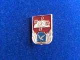 Insigne pionieri - Insignă România - Șoimii Patriei (material aluminiu)
