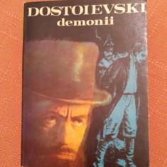Demonii. Editura Cartea Romaneasca, 1981. Traducere de Marin Preda - Dostoievski