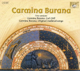 2 CD uri originale Carmina Burana Two Versions Carl Orff Medieval Songs