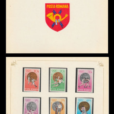 1972 Romania, J.O. Munchen - Medalii Olimpice LP 805, carnet filatelic