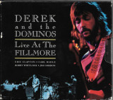 DEREK AND THE DOMINOS (ERIC CLAPTON) - LIVE AT THE FILLMORE, 1970, 2xCD