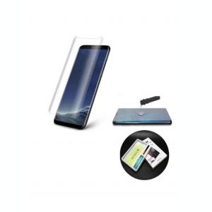 Folie Sticla Tempered Glass Samsung S7 Edge g935 UV Full Glue Clear