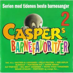 CD Caspers Barnefavoritter 2, original, muzica pentru copii