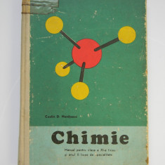 Chimie - manual pentru clasa a XI-a - Costin Nenitescu