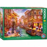 Cumpara ieftin Puzzle Eurographics - Dominic Davison: Sunset over Venice, 1000 piese