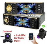 Mp5 player de masina cu LCD, Bluetooth, controller, player video, 4x45W, 1DIN