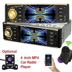 Mp5 player de masina cu LCD, Bluetooth, controller pe volan, player video, 4x45W