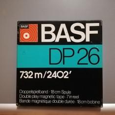 Banda Magnetofon  - BASF DP26 - diametru rola 18 cm - stare Foarte Buna/RFG