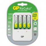 GP Recyko+ incarcator PB420 pentru acumulatori AA/AAA + baterii AA 4 x AA 2100mAh
