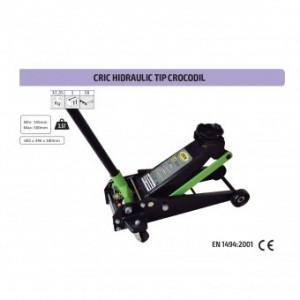 Cric hidraulic tip crocodil, JBM 50818, capacitate 3.5T, 145-500 mm