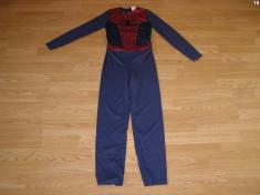 costum carnaval serbare spiderman pentru copii de 7-8 ani foto