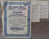 Actiuni Banca Ilfov, Societate Anonima Romana/ 1945