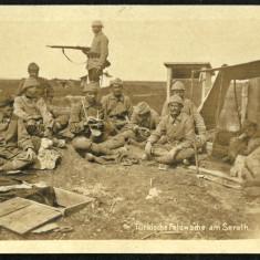 Carte Postala Veche Circulata 1918 BUKOWINA Bucovina SERETH Siret WWI Armata, Fotografie